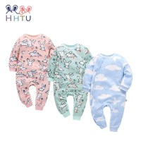 HHTU 2017 New Arrivals Baby Rompers Cotton Baby Boys Girls Clothing Long Sleeve Infant Jumpsuits Newborn