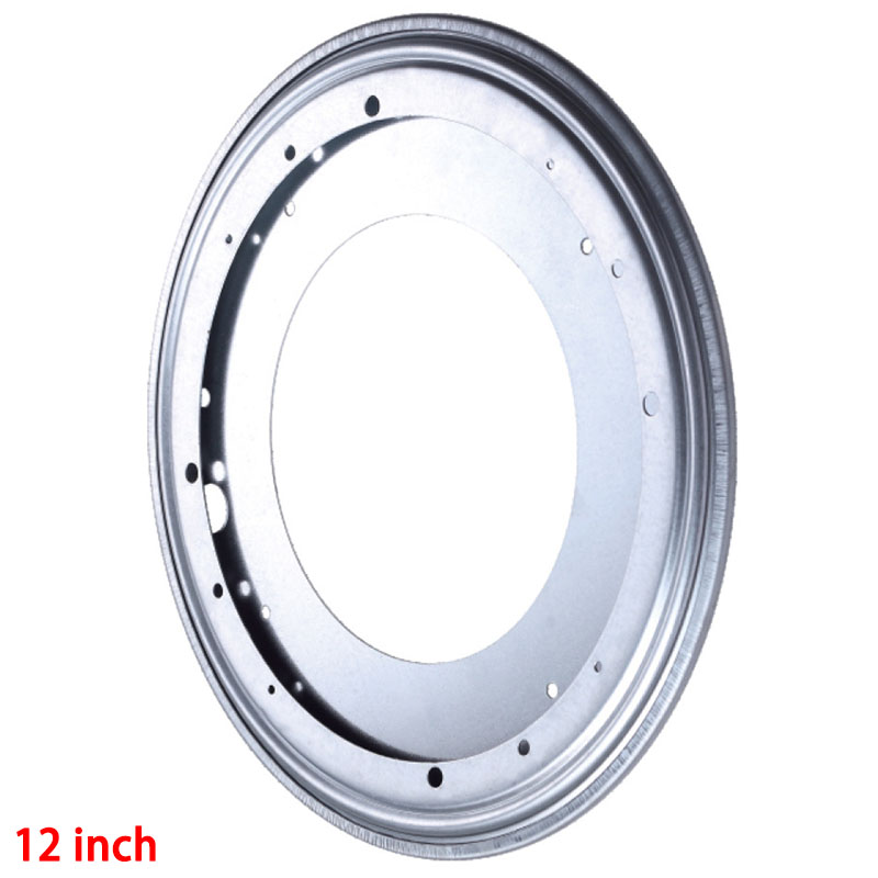 1Pc Full Ball Bearing Swivel Plate Lazy Susan Turntable 12 inch TV Rack Desk Tool Free Shipping(China (Mainland))