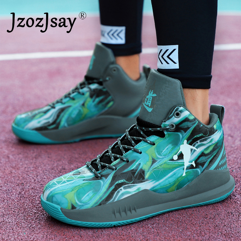 2017 Brand Basketball Shoes For Mens Breathable Outdoor Men Trainer Sneakers Ultra Boost Jordan Ankle Boots Shoes Basket Homme image