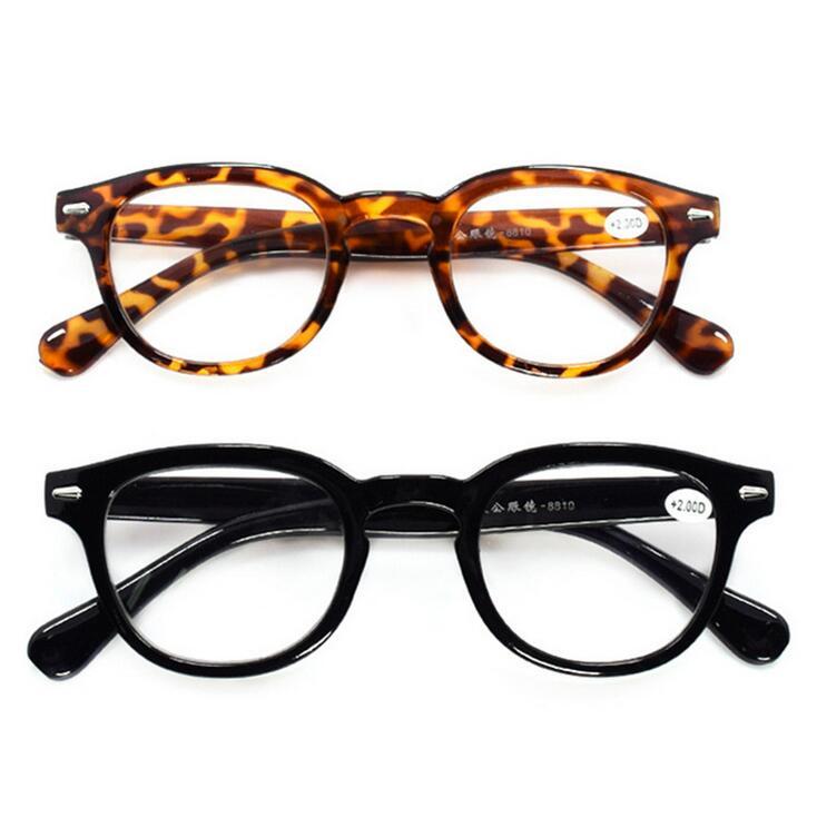 Fashion Reading Glasses Retro Style Round Men Women Power +1.0-4.00 Eyeglasses Gafas Lunettes De Lecture Leopard