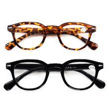 Fashion Reading Glasses Retro Style Round Men Women Power +1
