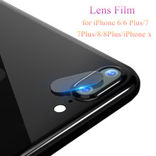 Здесь можно купить  SIANCS Clear HD Lens Film For iPhone 6 6s 7 8 Plus X Rear Camera Cover Back Lens Screen Protector Tempered Glass Anti-Scratch