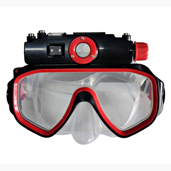 Winait HD720p masque de plongée étanche caméra vidéo numérique