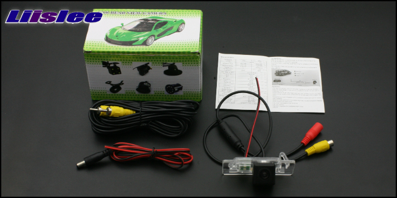 Liislee Автомобильная камера заднего вида для SEAT Leon 2009~ 2012, высокое качество, задняя камера заднего вида, водонепроницаемая, CCD, камера ночного видения, автомобильная камера