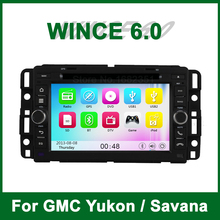 Car DVD Player GPS for GMC Yukon Savana Sierra Tahoe Acadia Chevrolet ExpressTraverse with Radio BT support 3G TV Ipod