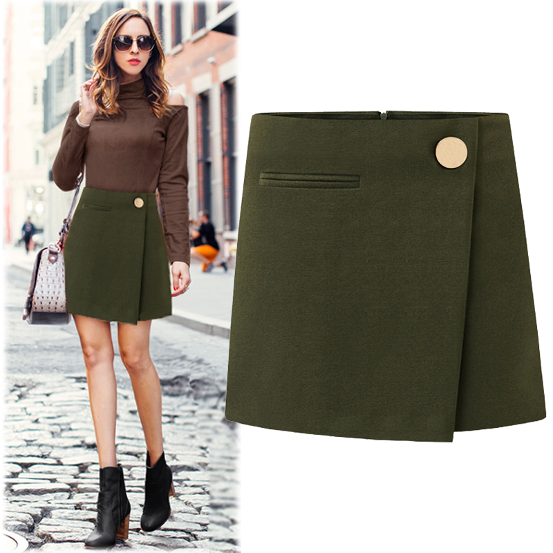Compare Prices on Button Work Woolen Skirt- Online Shopping/Buy ...
