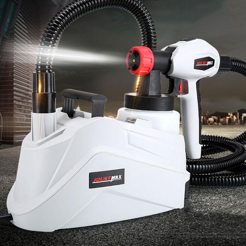 1280W 800ml EU Plug Electric Spray Gun Paint Sprayer Hand Held Sprayer Gun For Painting Cars Wood Furniture Wall Woodworking New