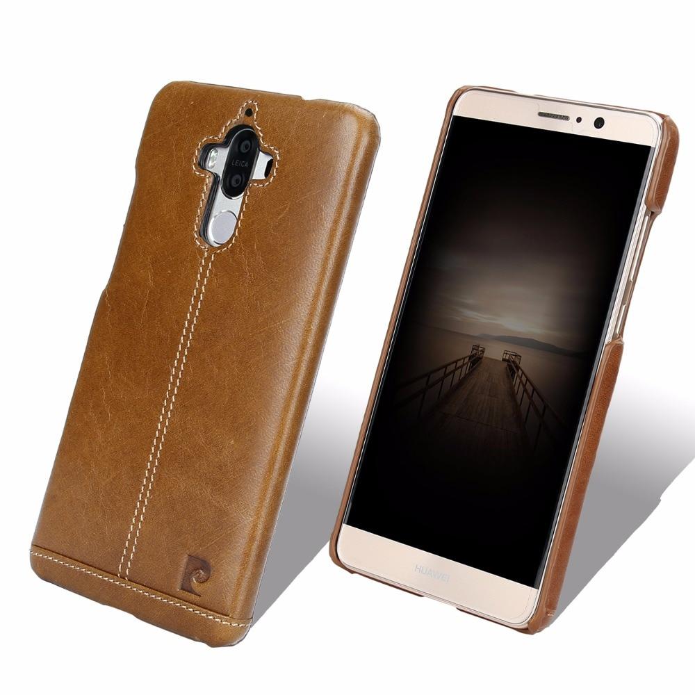 Eredeti Pierre Cardin Huawei Mate 9 tokhoz, luxus valódi bőr - Mobiltelefon alkatrész és tartozékok