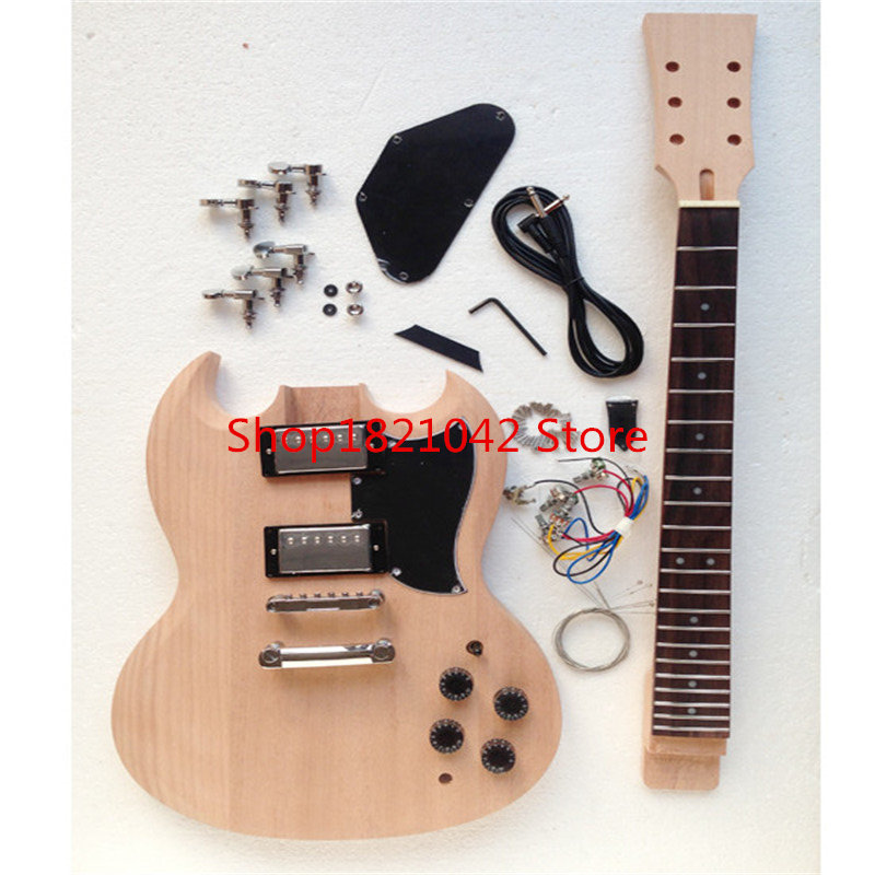 Suit! SG electric guitar jeep semi-finished body neck DIY custom guitars  china afanti music diy sg alder body electric guitar body ajb 157