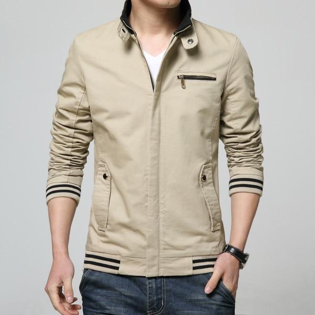 Khaki Jacket Mens