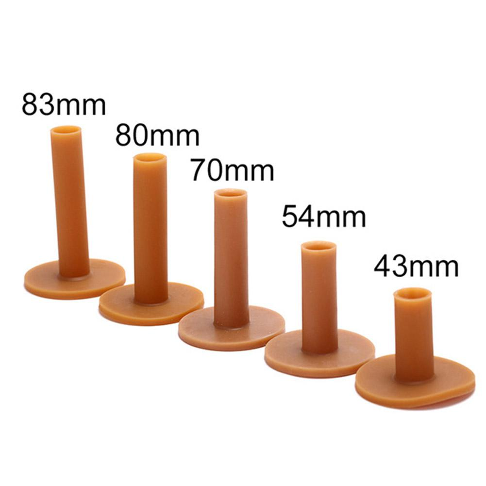 Rubber Golf Trainer Aid Tee Holder 43/54/70/80/83mm Training Practice Tee Mat Golves Ball Hole Holders