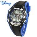 Disney marcas Mickey Crianças Digital quartzo Relógios de pulso Meninos meninas relógios esporte impermeável Swim relogio relógios estudante
