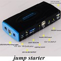 high quality  10000mAh 2USB Car Jump Starter Mini Portable Emergency Battery Charger for Petrol Car Free shipping