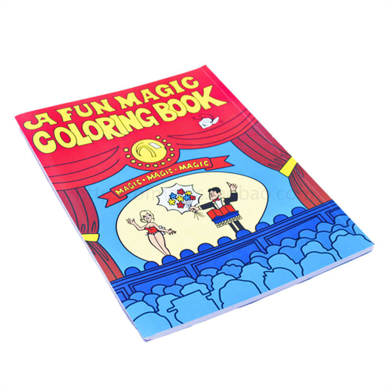 Amazing Fun Magic Coloring Book big magic book magic tricks magic ...