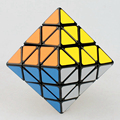 Lanlan 8-Axis Octahedron Speed Magic Cube Puzzle Game Cubes Educational Toys For Children Kids
