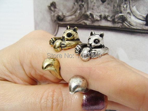 2015 Newest fashion Squirrel Ring animal ring Retro Adjustable Antique Silver/Bronze for Girlfriend Free Size (12pcs/lot)