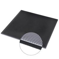 BIQU 3D מדפסת פלטפורמת מחומם מיטה לבנות משטח זכוכית צלחת 220x220 מ