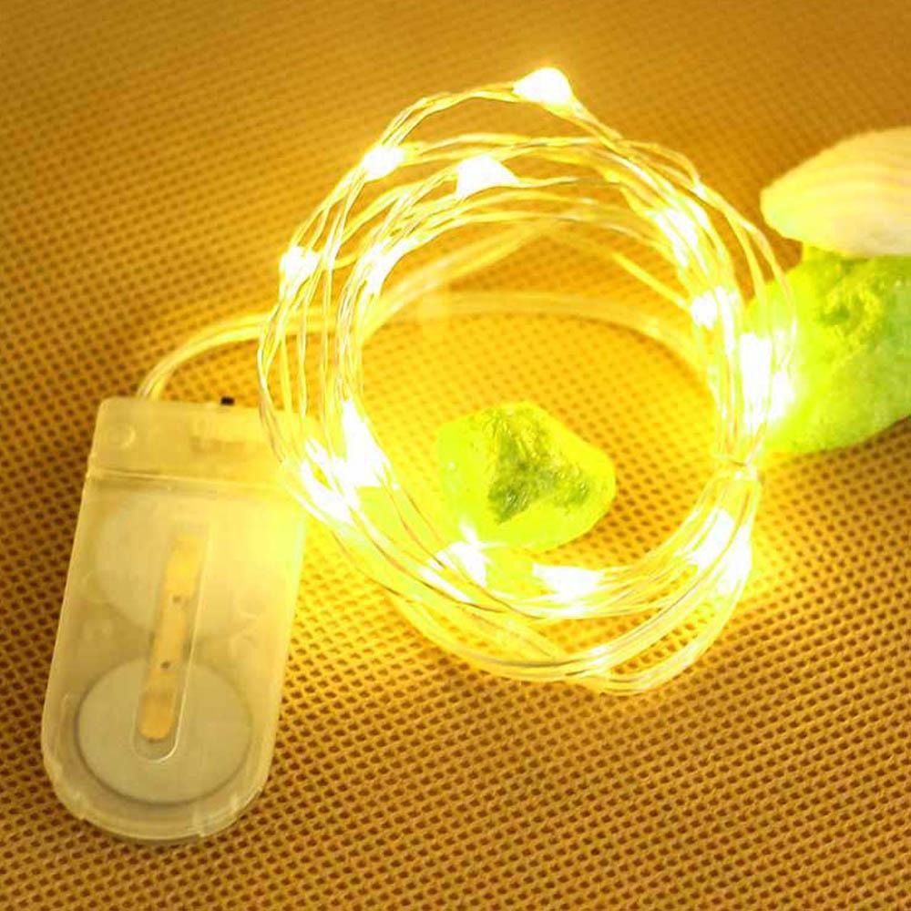 Christmas Tree Indoor Lights: 2M RGB LED String Light Christmas Lights Indoor Outdoor
