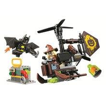 Bela Compatible Legoe giftse 10736 Бэтмен DC комиксы Marvel Justice League Супер герои Строительство Блоки Кирпичи Подарки для детей