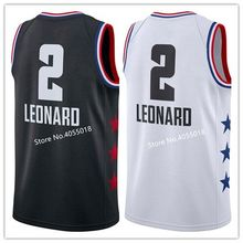 2f0422532da EFKGH Mens 2 Kawhi Leonard 2019 All Star Basketball Jersey US Size S-XXL
