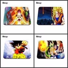 Dragon Ball Z  Print Computer Gaming Mouse Pad Gamer Play Mats Customization Supported Decorate You Desk 18*22/25*20/29*25*2cm
