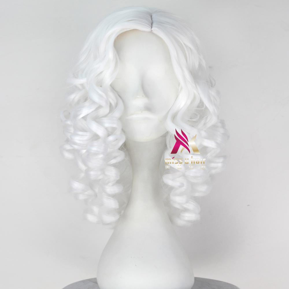 filme cosplay peruca adulto dia das bruxas cabelo