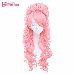 New-arrival-80-cm-Long-Curly-Pink-Marie-Antoinette-Anime-Cosplay-Wig-With-Bangs-ZY34F