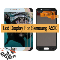 1920x1080 LCD For Samsung Galaxy A5 A520 A520F SM A520F LCD Display Touch Screen Assembly with frame Replacement