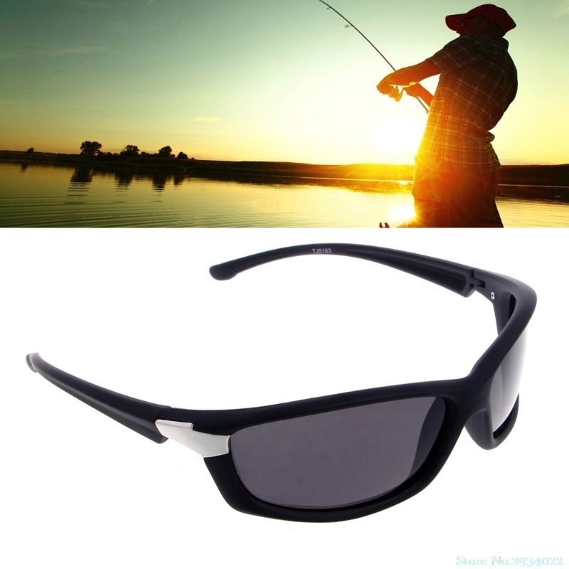 New Mens Polarized Sunglasses Driving Cycling Bicycle Sports Outdoor Fishing Goggles fish Drop Ship