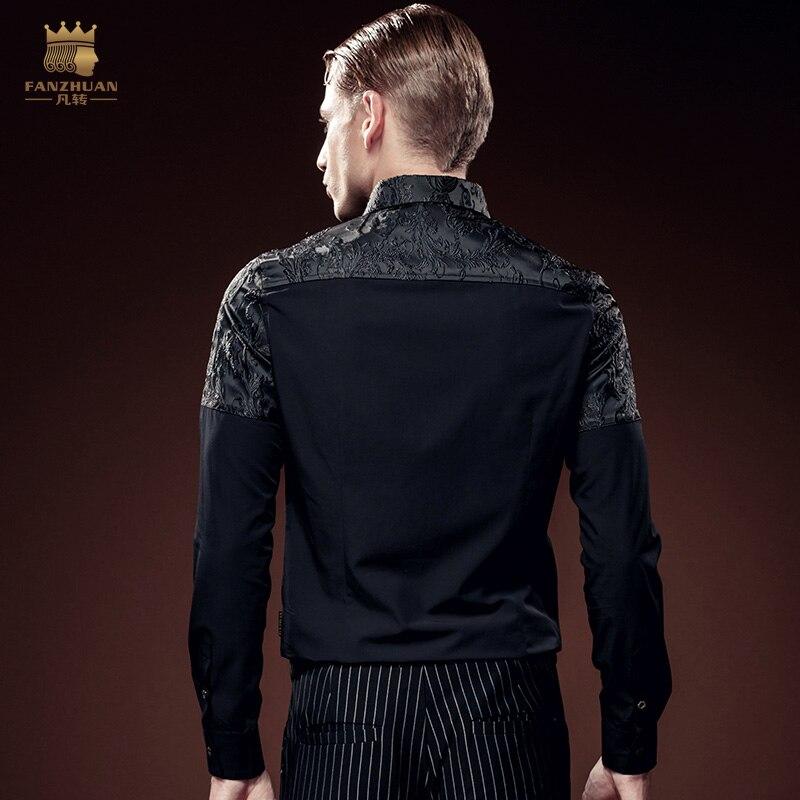 Ücretsiz kargo yeni erkek erkek moda rahat Gençlik Parti koyu - Erkek Giyim - Fotoğraf 3