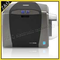 Fargo dtc1250e id card impressora dupla face uso fargo045500 tinta fita