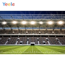Yeele Sports Stadium Photographic Backgrounds Football Field Soccer Player Child Portrait Photography Backdrops For Photo Studio
