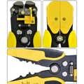 Hot! 1PC Professional Automatische Draht Striper Cutter Stripper Crimper Zange Terminal Hand Werkzeug Schneiden und Abisolieren Draht