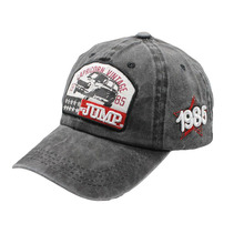 2019 New Washed Cotton Pattern Cap Men Baseball Snapback Hip Hop Women Casquette Vintage Dad Hat Branded