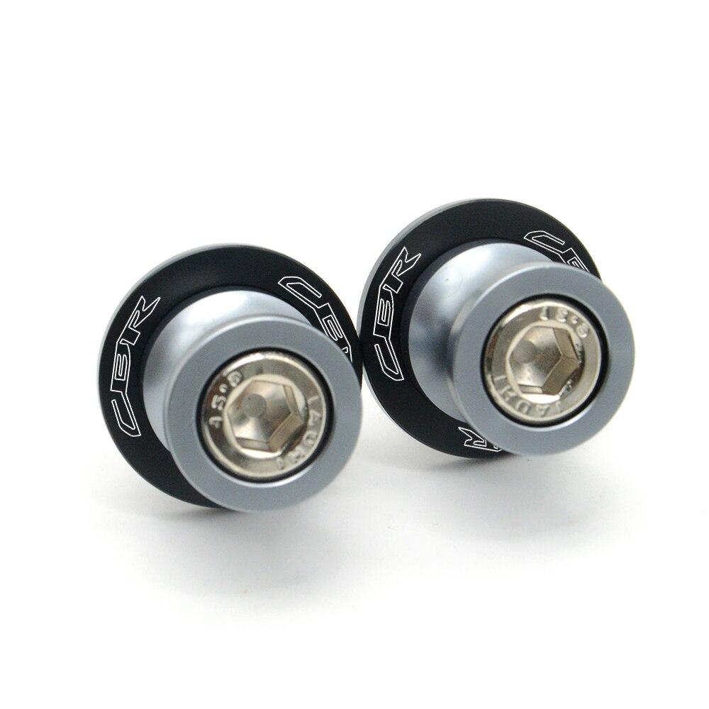 Accesorios de la motocicleta del cnc de aluminio soporte tornillos basculante ca