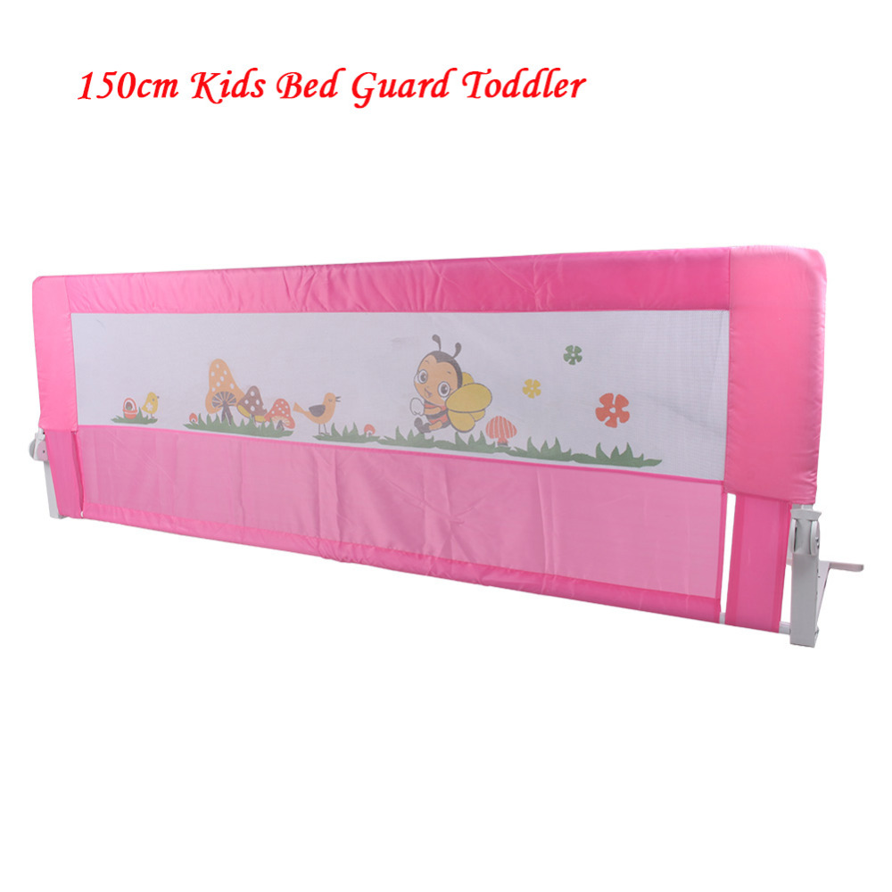 Baby cribs hong kong - 150cm Kids Bed Guard Toddler Safety Childs Bedguard Baby Folding Rail Protection Guards Hong Kong