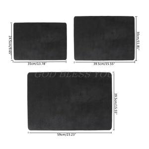 3 Sizes Black Professional Poker Card Deck Mat Magic Tricks Magician Props Coin Pad Board Game Drop Shipping(China)