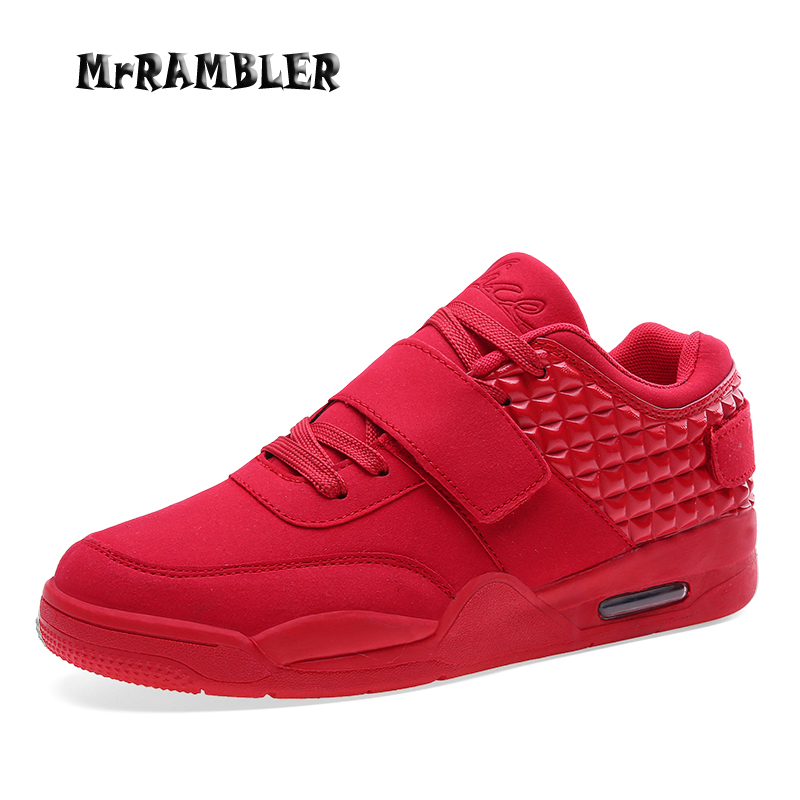 Erkekler Ayakkabı Moda Tasarımı Kırmızı PU Deri Ayakkabı Erkekler Yüksek Kaliteli Hafif Erkek Ayakkabı Yeni Erkek Rahat Ayakkabılar