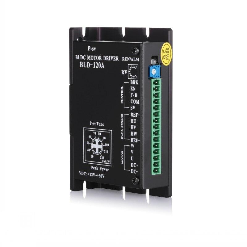 Free shipping bldc motor controller 120w dc12v -30v free shipping bldc drive controller for brushless dc motor