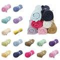 16 Cores de Algodão Cobertores Do Bebê Recém-nascido Super Macio Crochê Prop Berço Cama Dormindo Suprimentos Casuais Buraco Envoltório 100*80 cm Frete Grátis