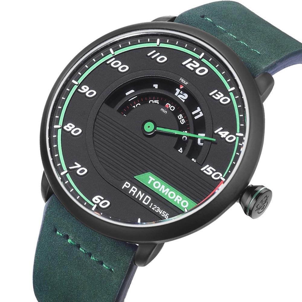 HTB1R.o7OVXXXXb.aXXXq6xXFXXX2 TOMORO Men's Unique Racing Car 3D Design Wrist Watch