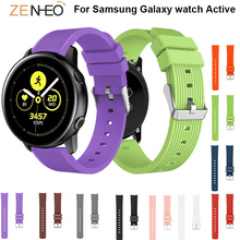 Silicone strap For Samsung Galaxy watch Active 20mm watch straps Replacement wristband For Samsung Gear S2 Watchband Accessories все цены