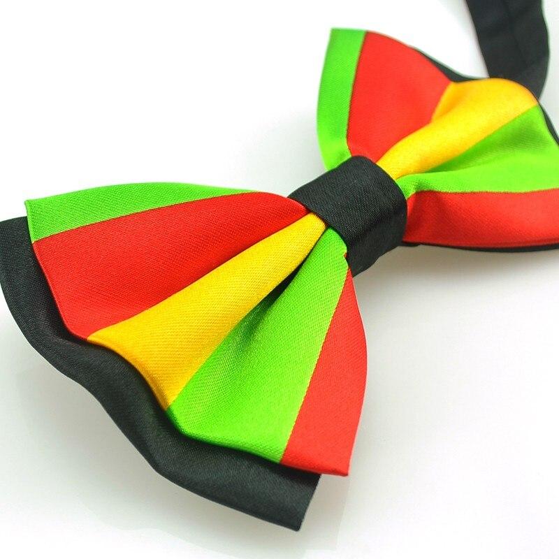"""Мужской галстук-бабочка унисекс """" красный желтый зеленый"""" Узоры смокинг платье галстук-бабочка стиль Модные вечерние галстук для мужчин на свадьбу"""