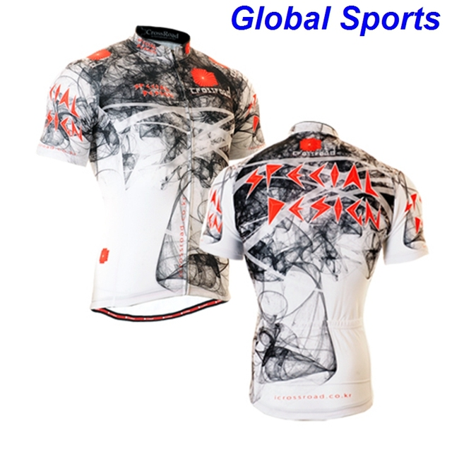2017 fashional custom cycling wear Chinese paint performance cycling wear  popular attractive bike wear clothes tops jerseys 909967a99