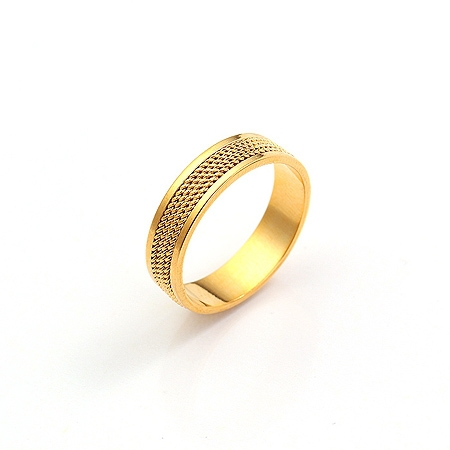 Aliexpress Buy Classic 24k Golden Ring without stone for