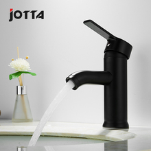 Stainless steel washbasin faucet black art basin high