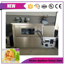 Free shipping 110V/220V automatic durable mini pizza cone oven baking machine/pizza tube rotary machine for sale
