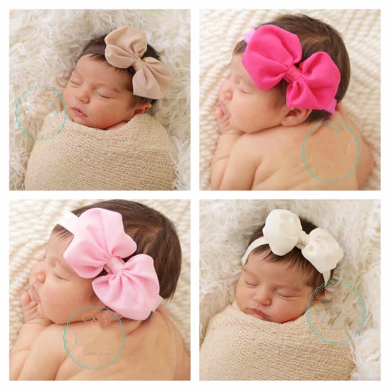 Headwrap เด็ก Headbands Headwear หญิง Bow Knot Hairband Head Band ทารกแรกเกิดเด็กวัยหัดเดินอุปกรณ์เสริมผมเสื้อผ้า