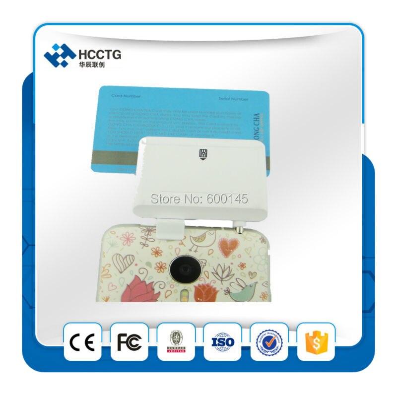 Machine d'encodage de carte magnétique magnétique mobile Android/lecteur de carte à puce IC/lecteur de carte MSR à bande msr mini lecteur-ACR32