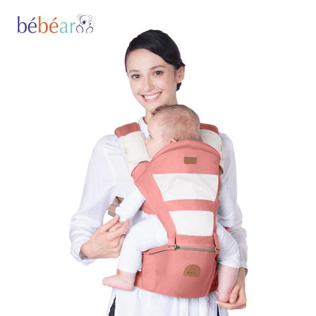 Bebear mochila ergonomica portabebe hipseat portador de bebê 360 bebê canguru mochila anel envoltório slings estilingue do bebê para bebês